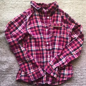 Osh Kosh Girls Long Sleeve Flannel